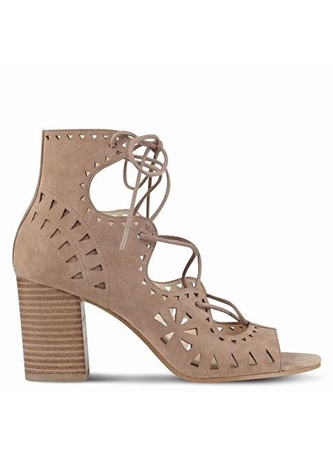 Nine West Süet Klasik Ayakkabı Ten